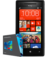 HTC 8X Windows Phone (Black) Deals