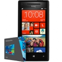 HTC 8X Windows Phone (Black)
