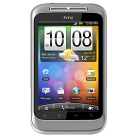 HTC Wildfire S (Silver) Deals
