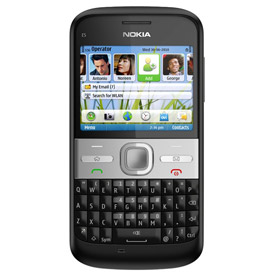 Nokia E5 (Black) Deals