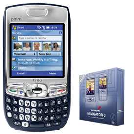 Free TomTom 6 when you buy a Palm Treo 680 or Palm Treo 750 :  windows mobile palm treo navigator 6 palm treo 680